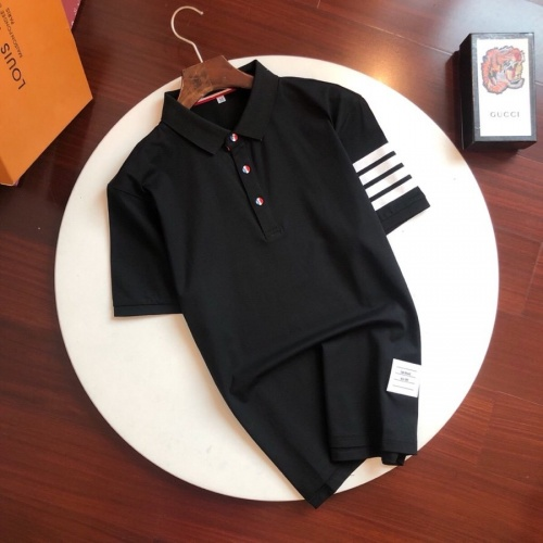 Thom Browne TB T-Shirts Short Sleeved Polo For Men #774391