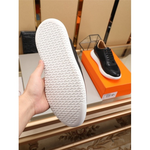 Replica Hermes Casual Shoes For Men #774410 $85.36 USD for Wholesale