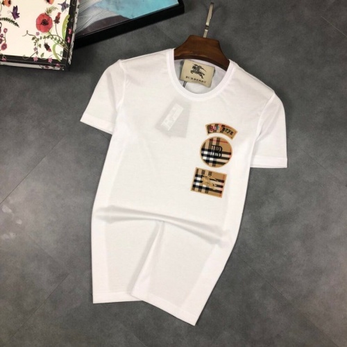 Burberry T-Shirts Short Sleeved O-Neck For Men #774414
