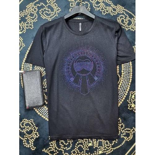 Fendi T-Shirts Short Sleeved O-Neck For Men #774417