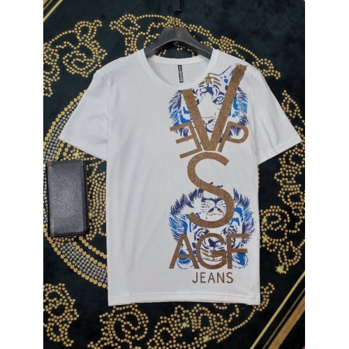 Versace T-Shirts Short Sleeved O-Neck For Men #774418