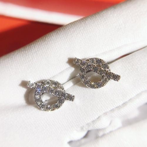 Hermes Earrings #774472 $36.86, Wholesale Replica Hermes Earrings