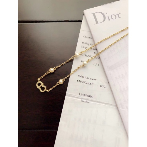 Christian Dior Necklace #774499 $34.92, Wholesale Replica Christian Dior Necklace