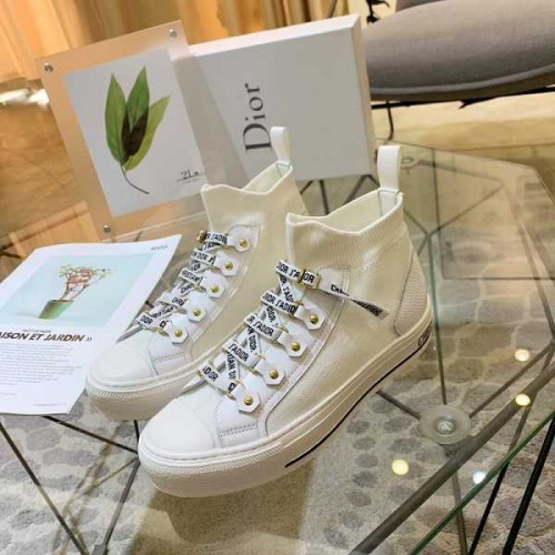 Christian Dior High Tops Shoes For Women #774887