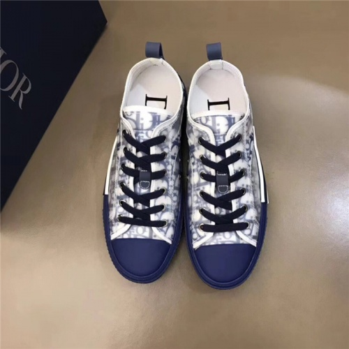 Replica Christian Dior Casual Shoes For Men #774981 $73.72 USD for Wholesale