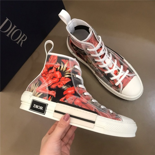 Christian Dior High Tops Shoes For Men #774988
