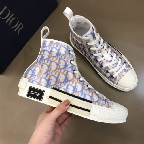 Christian Dior High Tops Shoes For Men #774989