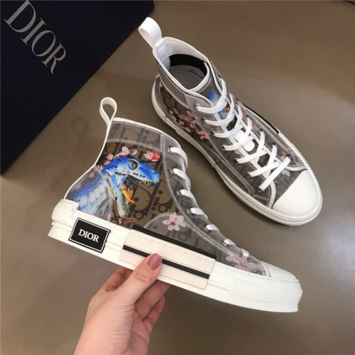 Christian Dior High Tops Shoes For Men #774992