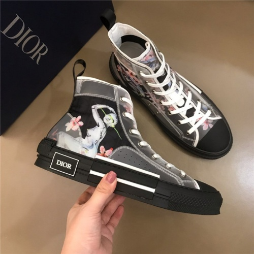 Christian Dior High Tops Shoes For Men #774993