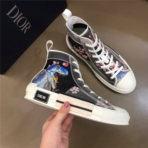 Christian Dior High Tops Shoes For Men #774994