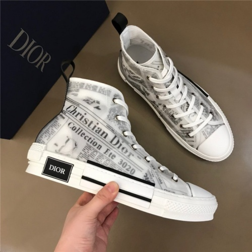 Christian Dior High Tops Shoes For Men #775006