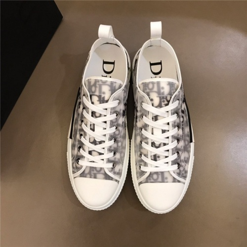 Replica Christian Dior Casual Shoes For Men #775021 $73.72 USD for Wholesale