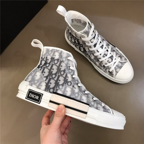 Christian Dior High Tops Shoes For Men #775034 $77.60 USD, Wholesale Replica Christian Dior High Tops Shoes