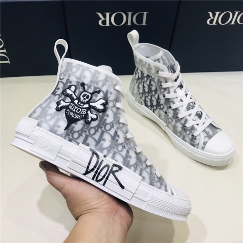 Christian Dior High Tops Shoes For Men #775055