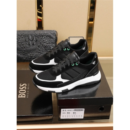 Replica Boss Casual Shoes For Men #775132 $82.45 USD for Wholesale