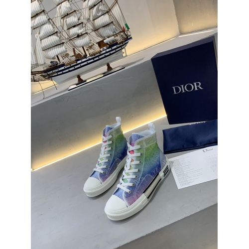 Christian Dior High Tops Shoes For Women #775196