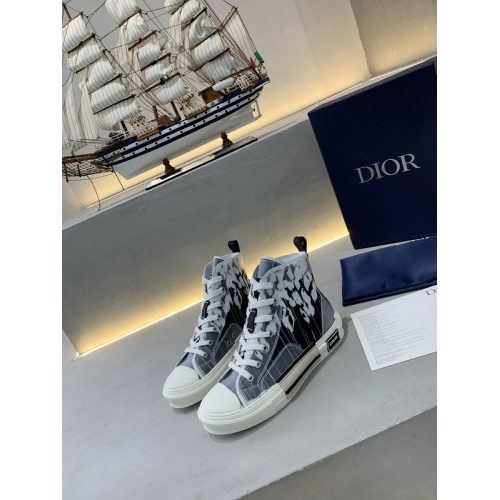 Christian Dior High Tops Shoes For Women #775198