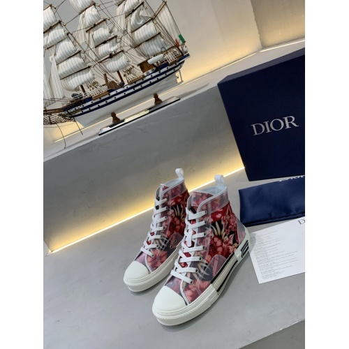 Christian Dior High Tops Shoes For Women #775203