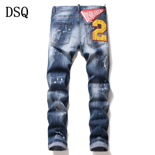 Dsquared Jeans Trousers For Men #775206 $46.56 USD, Wholesale Replica Dsquared Jeans