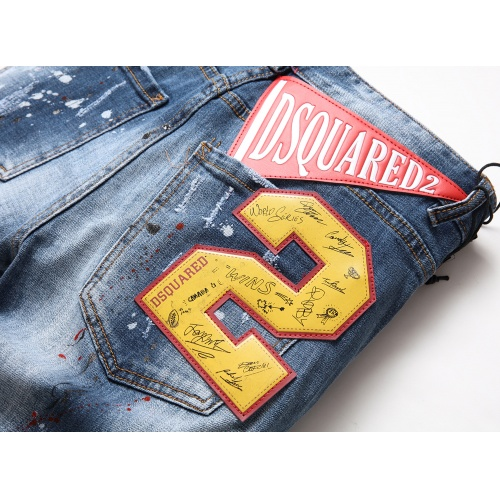 Replica Dsquared Jeans Trousers For Men #775206 $46.56 USD for Wholesale