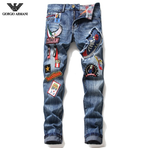 Armani Jeans Trousers For Men #775215