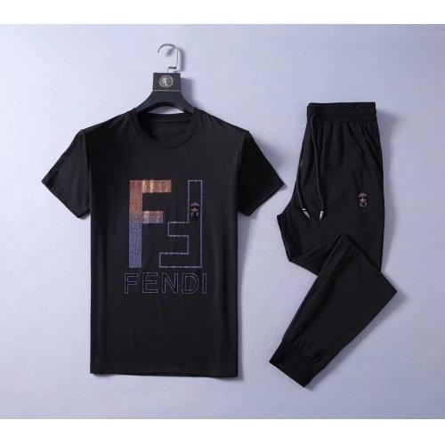 Fendi Tracksuits Short Sleeved O-Neck For Men #775285