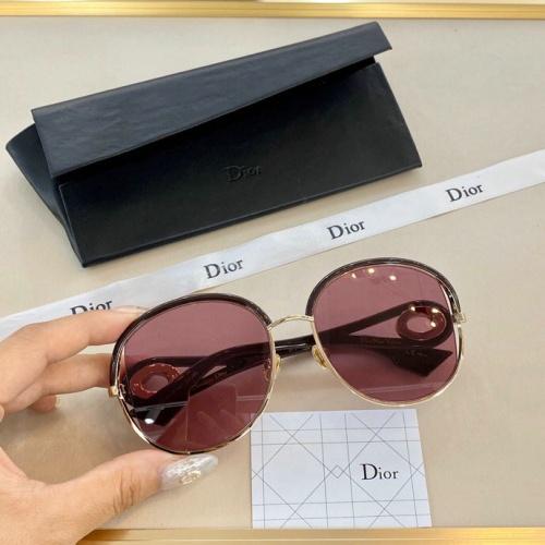 Christian Dior AAA Quality Sunglasses #775655