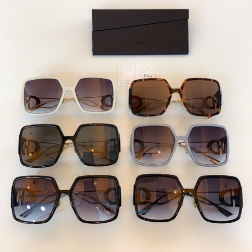 Replica Christian Dior AAA Quality Sunglasses #775856 $63.05 USD for Wholesale