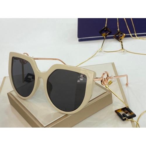 Fendi AAA Quality Sunglasses #775863