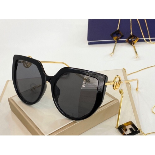 Fendi AAA Quality Sunglasses #775865