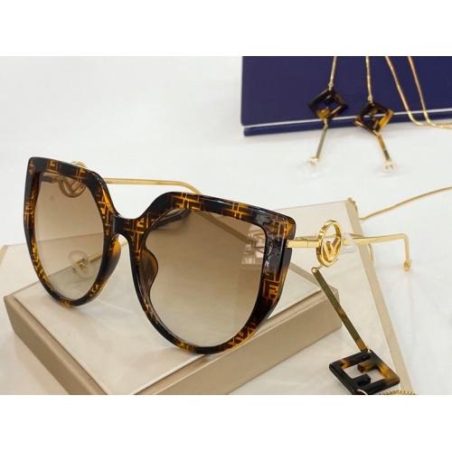 Fendi AAA Quality Sunglasses #775871