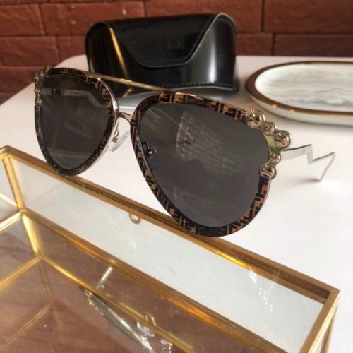 Fendi AAA Quality Sunglasses #775876