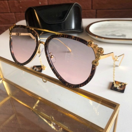 Fendi AAA Quality Sunglasses #775880