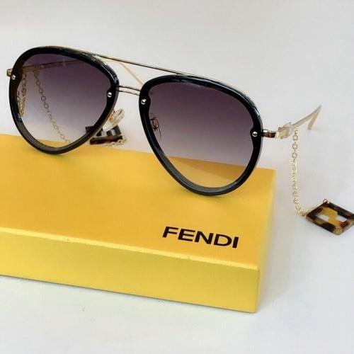 Fendi AAA Quality Sunglasses #775886