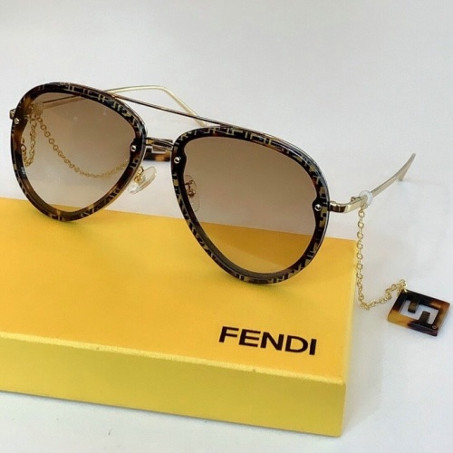 Fendi AAA Quality Sunglasses #775889