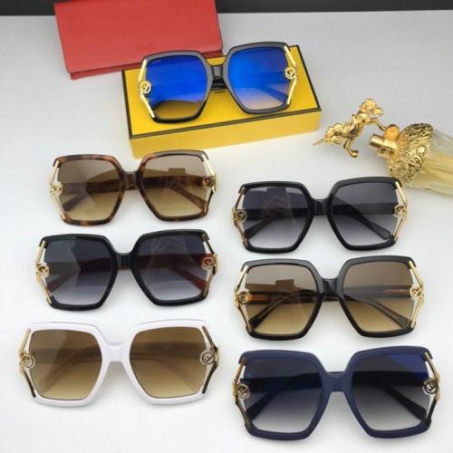 Replica Fendi AAA Quality Sunglasses #776054 $59.17 USD for Wholesale