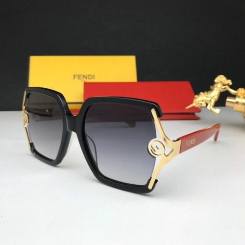 Fendi AAA Quality Sunglasses #776056