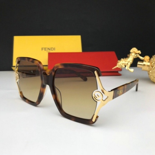 Fendi AAA Quality Sunglasses #776057