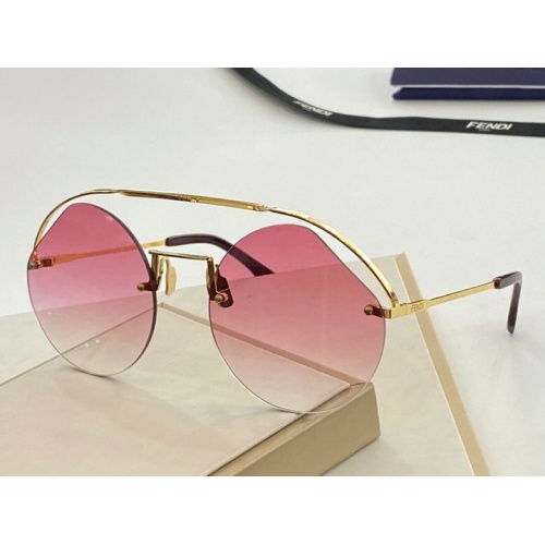 Fendi AAA Quality Sunglasses #776066
