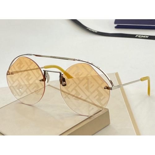 Fendi AAA Quality Sunglasses #776069
