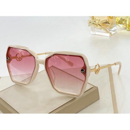 Fendi AAA Quality Sunglasses #776078 $59.17, Wholesale Replica Fendi AAA Sunglasses