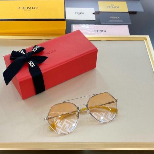 Fendi AAA Quality Sunglasses #776082