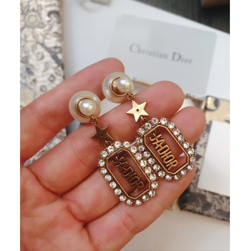 Christian Dior Earrings #776253 $31.04 USD, Wholesale Replica Christian Dior Earrings
