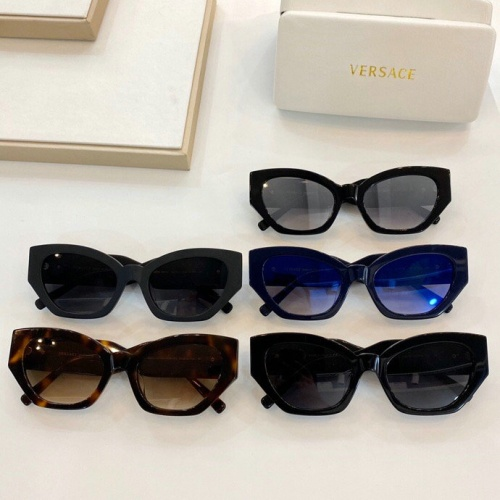 Replica Versace AAA Quality Sunglasses #776293 $59.17 USD for Wholesale