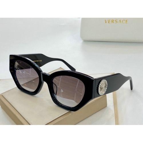 Versace AAA Quality Sunglasses #776295 $59.17 USD, Wholesale Replica Versace AAA+ Sunglasses