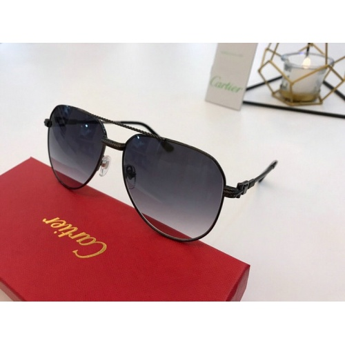 Cartier AAA Quality Sunglasses #776415
