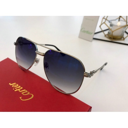 Cartier AAA Quality Sunglasses #776417