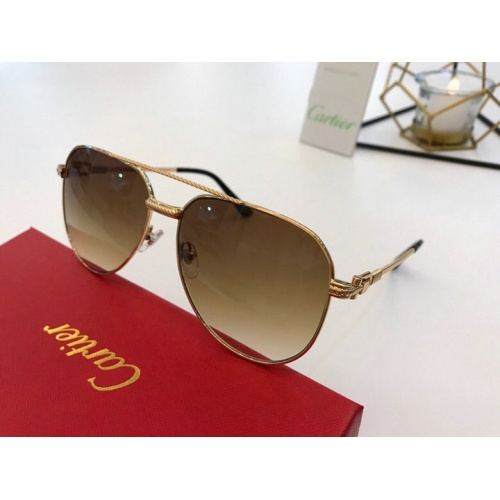 Cartier AAA Quality Sunglasses #776419