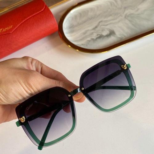 Cartier AAA Quality Sunglasses #776423