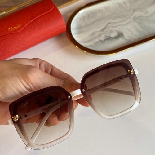 Cartier AAA Quality Sunglasses #776427